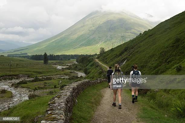 West Highland Way Richtung Schild
