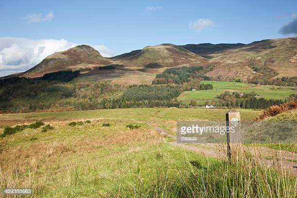 west highland way - theasis foto e immagini stock
