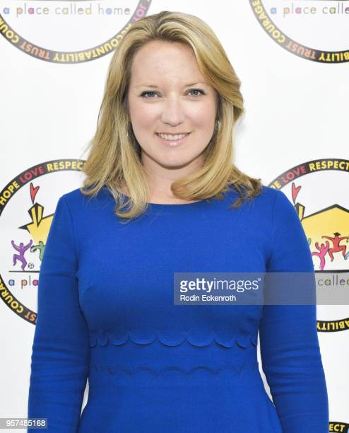 West Hollywood Councilmember Lindsey Horvath attends A Place Called Home's GirlPower Awards Luncheon at Skirball Cultural Center on May 11 2018 in...