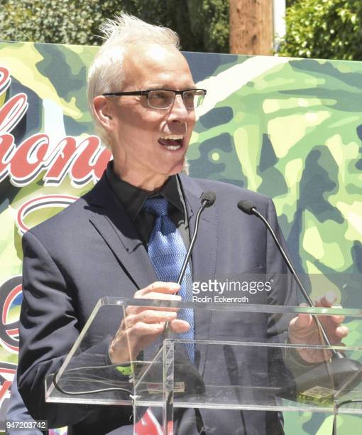 West Hollywood Mayor John Heilman speaks onstage at Cheech Marin and Tommy Chong Key to The City of West Hollywood Award Ceremony at The Roxy Theatre...