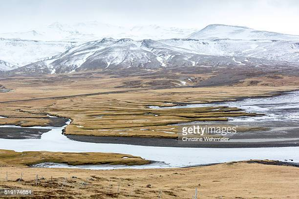west iceland landscape - christine wehrmeier stock pictures, royalty-free photos & images