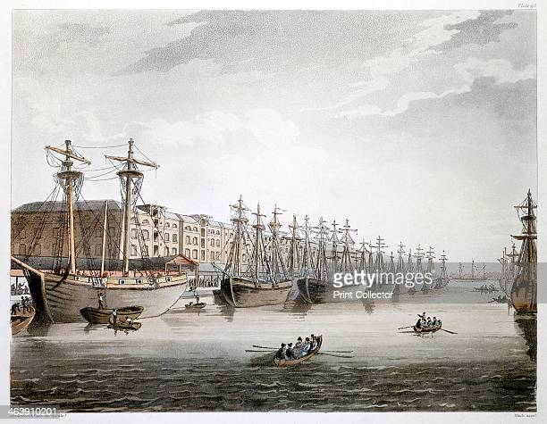 West India Docks London 18081810 The docks were built in 17991802 The chief engineer was William Jessop and the warehouses were built by George Gwilt...