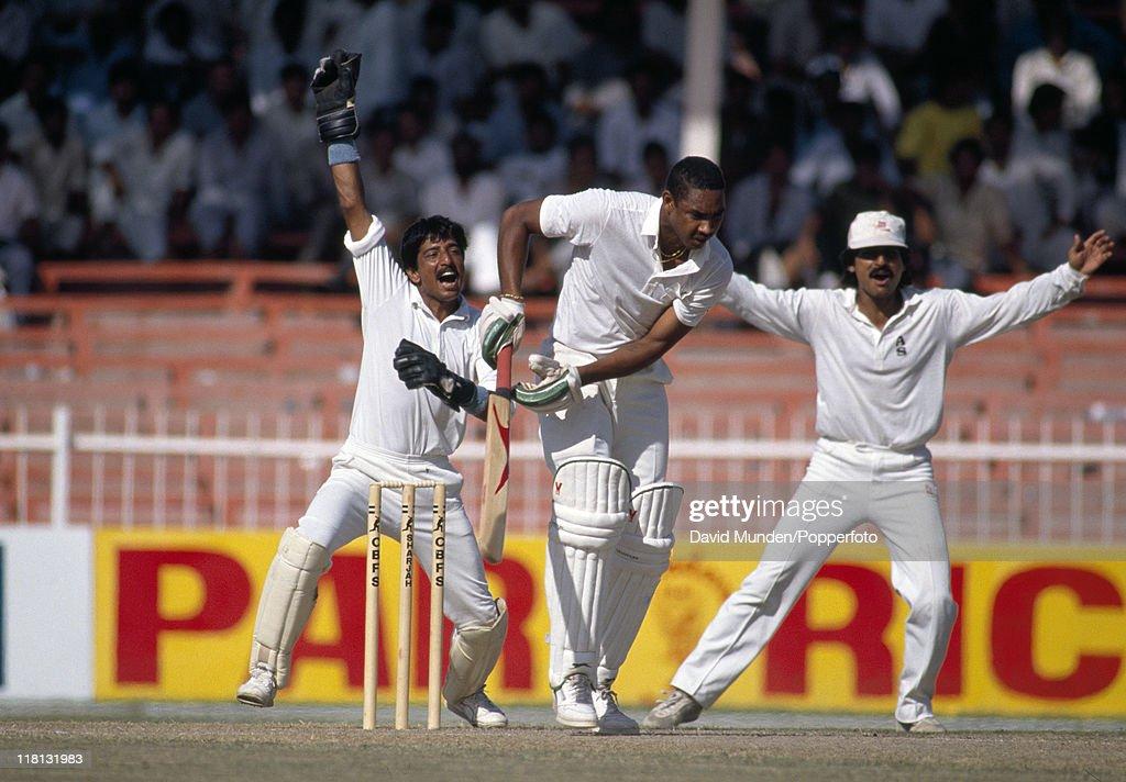 Pakistan v West Indies : News Photo