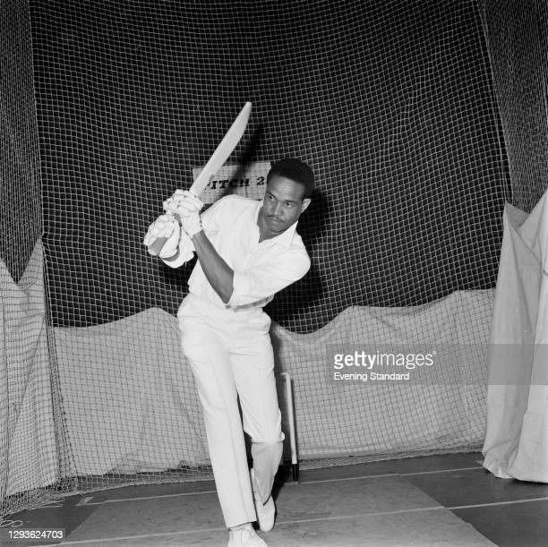 West Indian cricketer Garfield 'Gary' Sobers, UK, April 1966.