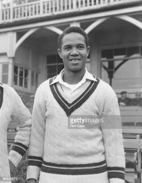 West Indian cricketer Garfield Sobers, 26th April 1957.