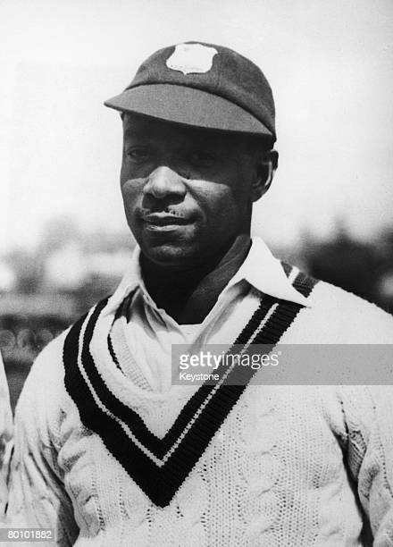 West Indian cricketer George Headley during a tour of England, circa 1928.