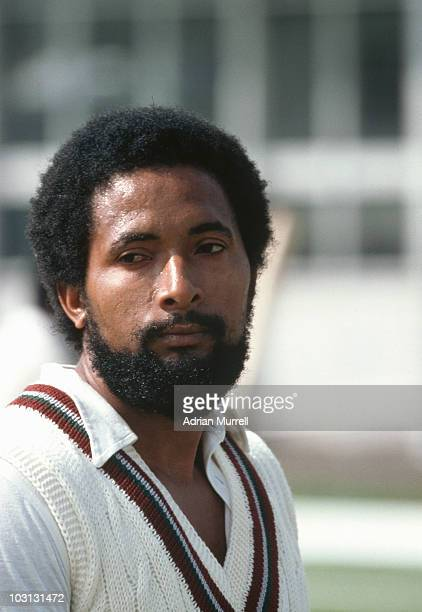 West Indian fast bowler Andy Roberts at The Oval London during the Cricket World Cup semifinal June 1979