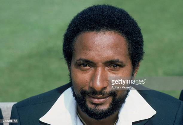 West Indian fast bowler Andy Roberts circa 1980