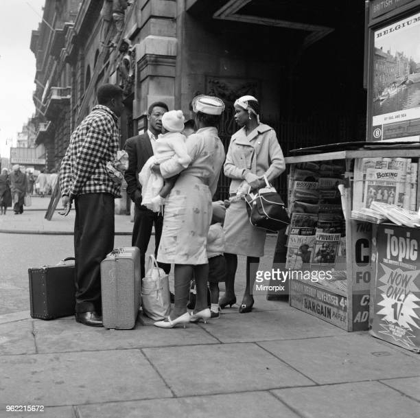 West Indian immigrants arriving in the United Kingdom, 19th May 1962.