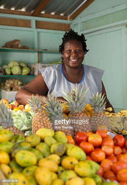Fruit Stall in Barbados