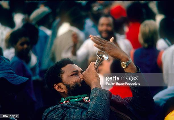 West Indian supporters England v West Indies 5th Test The Oval Aug 1976