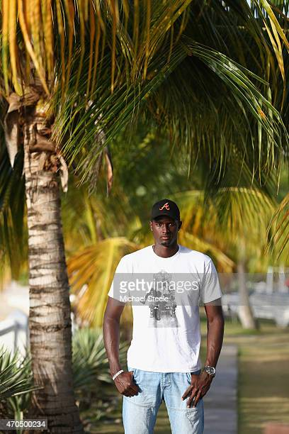 West Indies all rounder Jason Holder poses for a portrait on April 20 2015 in Grenada Grenada
