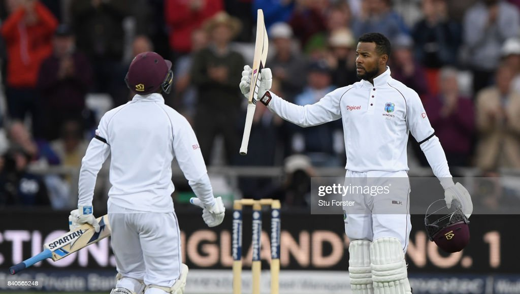 England v West Indies - 2nd Investec Test: Day Five : News Photo