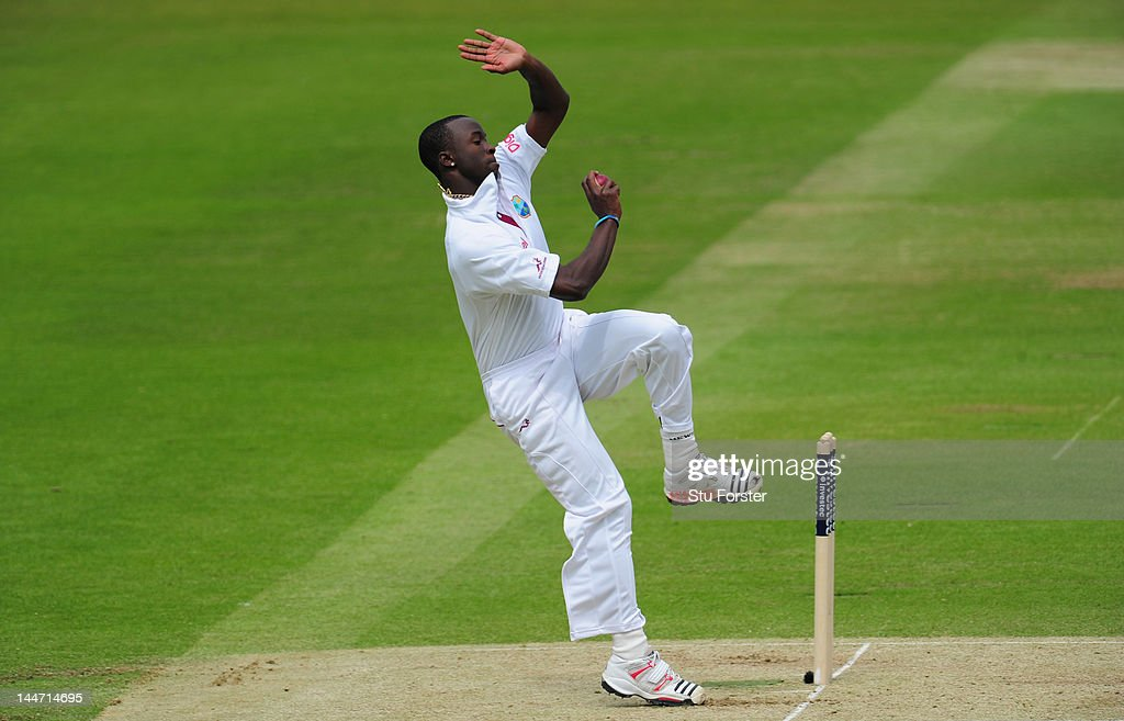 England v West Indies: 1st Test - Day Two : News Photo