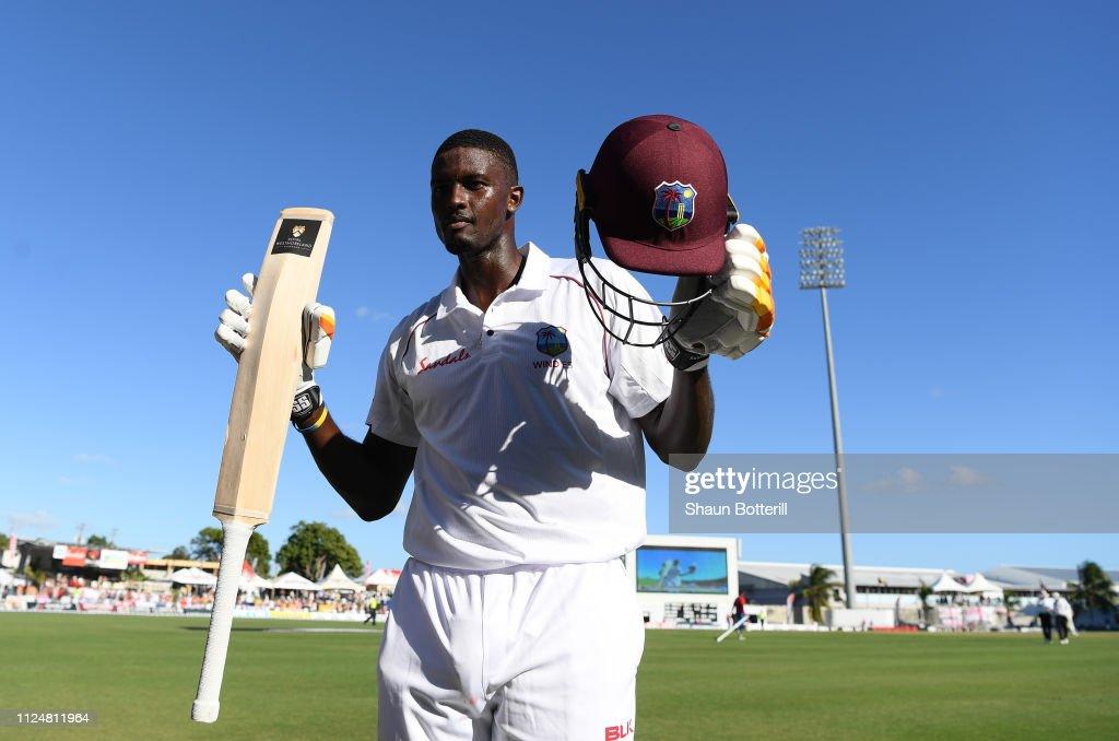 West Indies v England - 1st Test: Day Three : News Photo