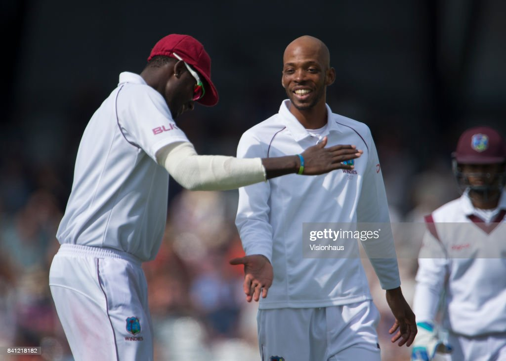England v West Indies - 2nd Investec Test: Day Four : News Photo