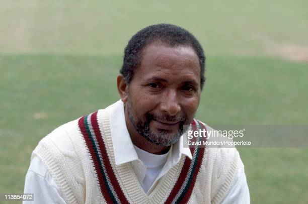 West Indies coach Andy Roberts during their tour of England 16th May 1995 at Worcester