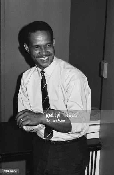 West Indies cricket captain Garfield Sobers, UK, 22nd April 1969.