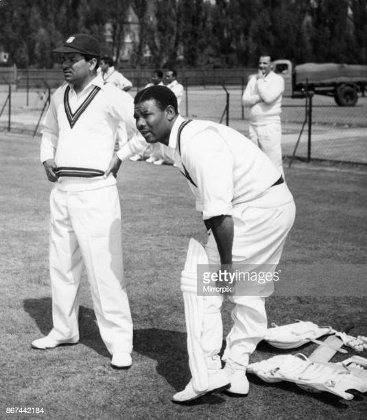 West Indies cricket tour of England 1957 1st Test England v West Indies at Edgbaston Birmingham played from 30th May to 4th June 1957 5 day match...
