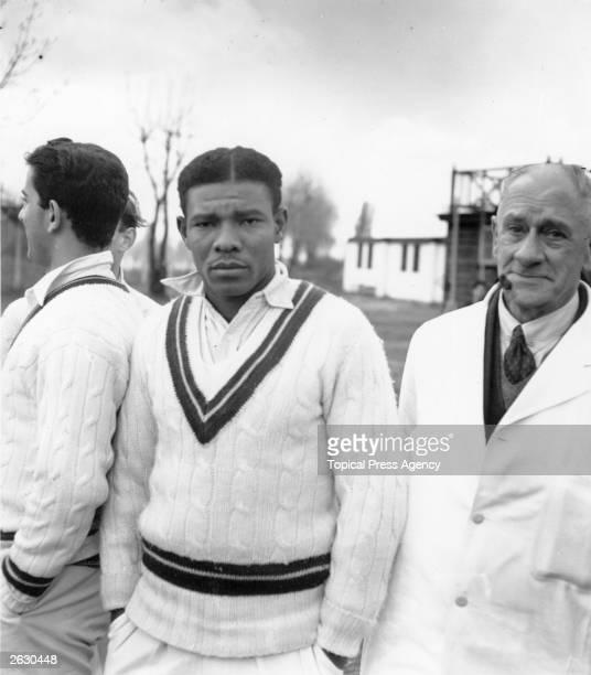 West Indies cricketer Everton Weekes Original Publication People Disc HH0115