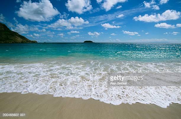 West Indies, French Antilles, Saint Barthelemy, Grande Saline Beach