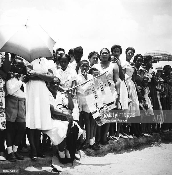 West Indies Martinique Fort De France Arrival Of The General De Gaulle On 1St Of May 1960