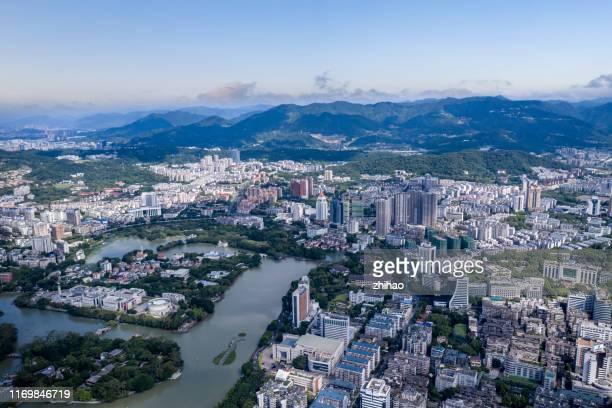 west lake park, fuzhou city, fujian province - fuzhou stock pictures, royalty-free photos & images