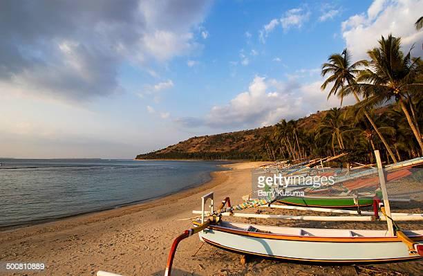 West Lombok Beach NTB.