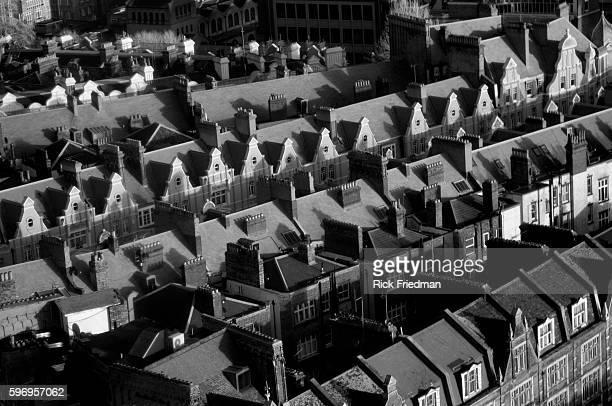 West London neighborhood of London England on January 17 2014