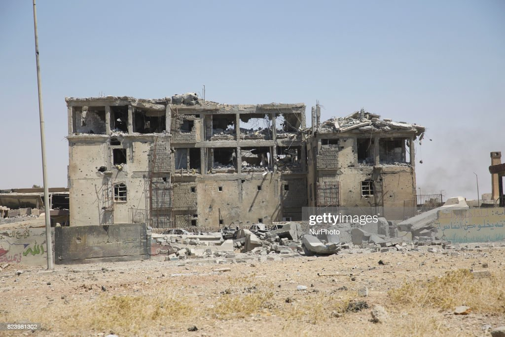 West Mosul lies in ruins as the fighting for Mosul is drawing to an end. West Mosul 27 July 2017