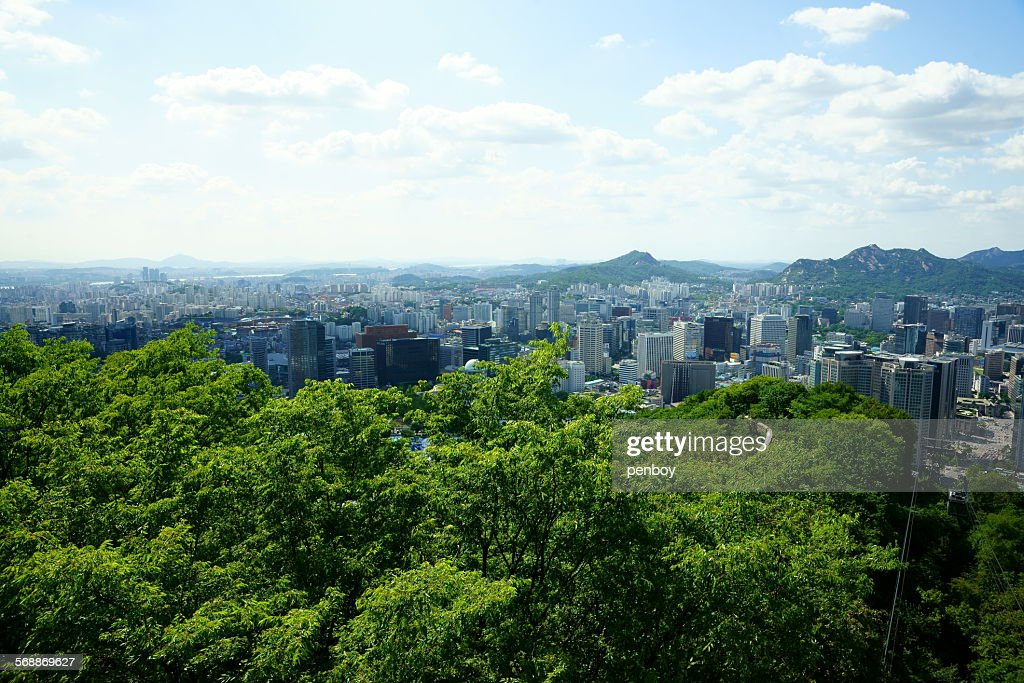 West of Seoul : Stock Photo