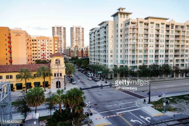 West Palm Beach City Palms Condominium Complex and streets