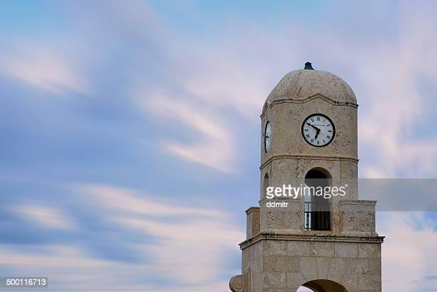 west palm beach clock tower - ウェストパームビーチ ストックフォトと画像