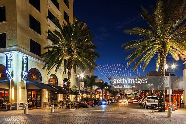 west palm beach, florida, exterior view - west palm beach stock pictures, royalty-free photos & images