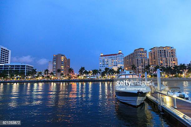 west palm beach, florida - west palm beach stock pictures, royalty-free photos & images