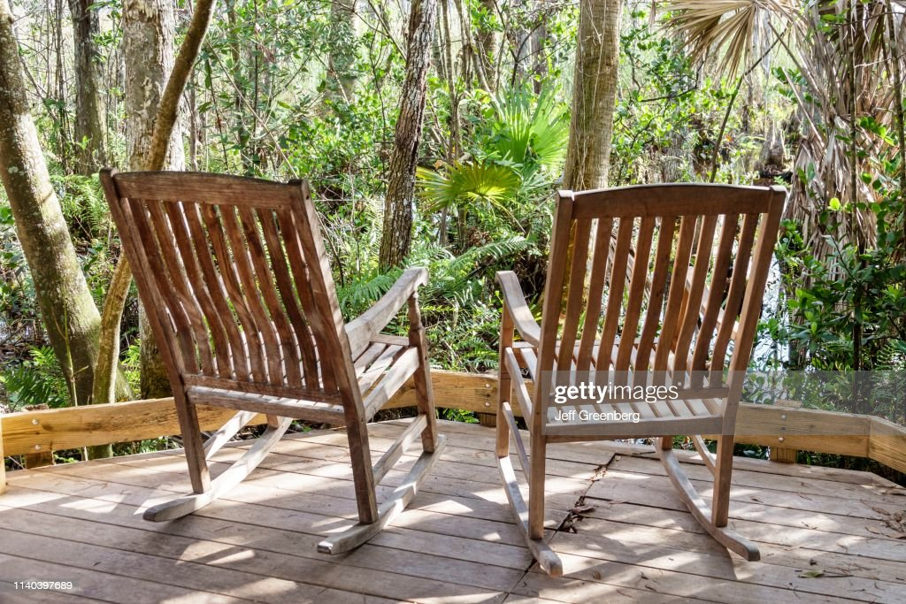 West Palm Beach Grassy Waters Nature Preserve Two Rocking Chairs News Photo Getty Images