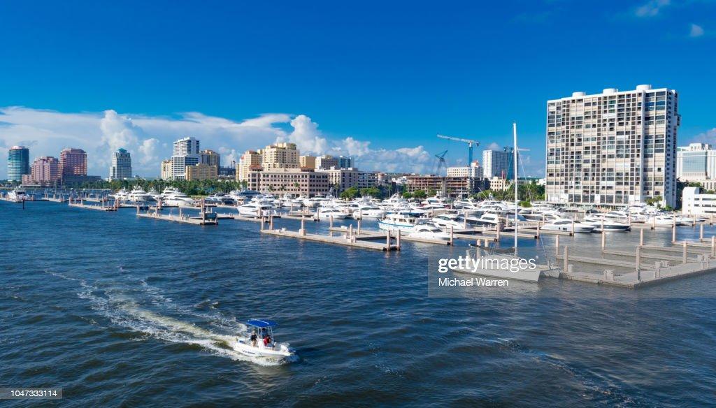 West Palm Beach - Palm Harbor : Foto de stock