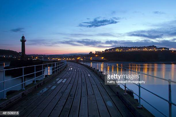 west pier view - kathy west stock pictures, royalty-free photos & images