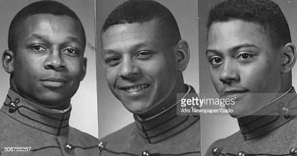 West Point cadets C B Tildorg J T Martin and J T Howard 1971