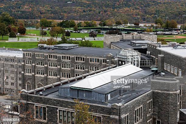 West Point Military Academy campus.