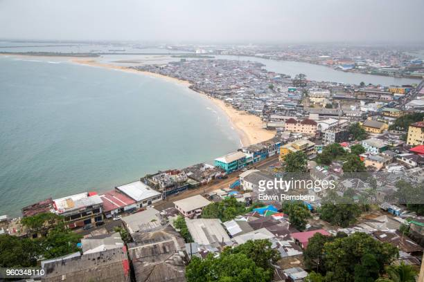 west point - monrovia liberia stock pictures, royalty-free photos & images