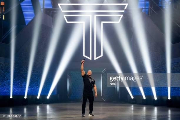 """West Region Premiere: NFLs Victor Cruz and Stuntwoman Jessie Graff"""" Episode 205 -- Pictured: Dwayne Johnson --"""