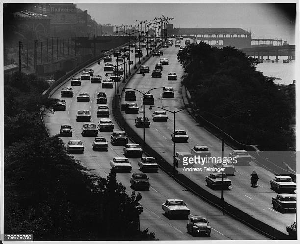 West Side Highway New York New York ca 1960