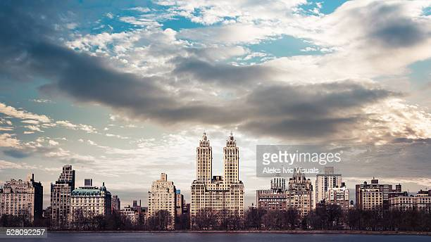 west side - central park reservoir stock pictures, royalty-free photos & images