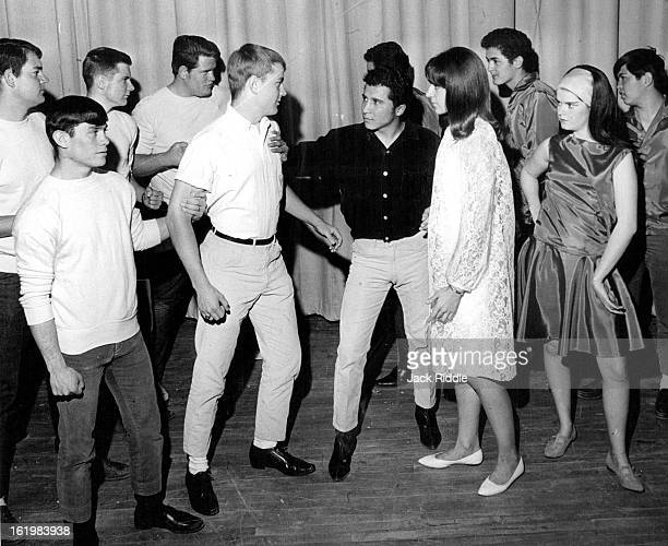 MAR 30 1967 APR 1 1967 APR 5 1967 'West Side Story' Set at Brighton The Jets and Sharks are threatening the relationship of the American boy Tony and...