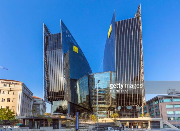 140 west street building in sandton, johannesburg - sandton stock pictures, royalty-free photos & images