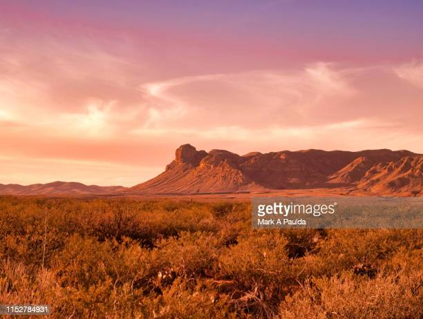 west texas mountains - texas stock pictures, royalty-free photos & images