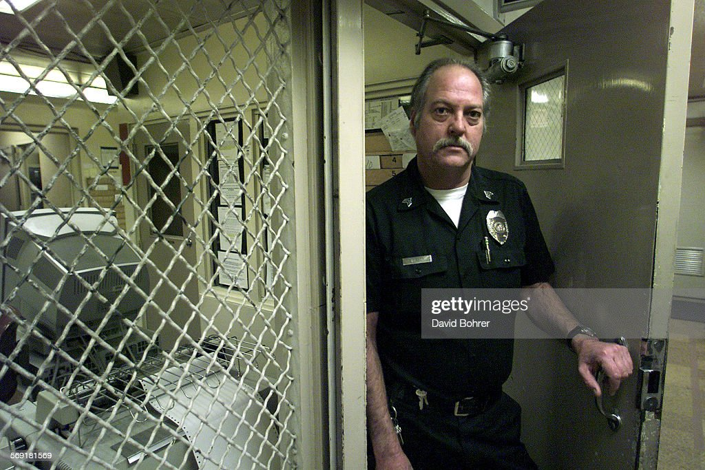 lapd west valley division jail supervisor and senior detention officer michael simpson cq stands