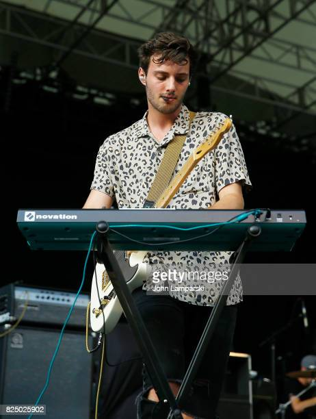 Westen Weiss of The Wrecks performs in concert New York New York at Central Park SummerStage on July 31 2017 in New York City