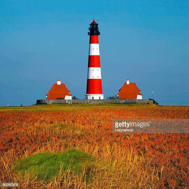 westerhever lighthouse gala auction - lucyna koch stock-fotos und bilder